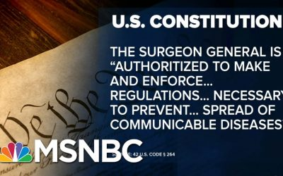 COVID-Quarantine? U.S. Law Gives Broad Powers To Stem Infectious Disease | MSNBC