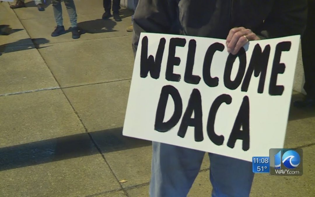 Hampton Roads DACA supporters rally behind immigrants, await Supreme Court ruling