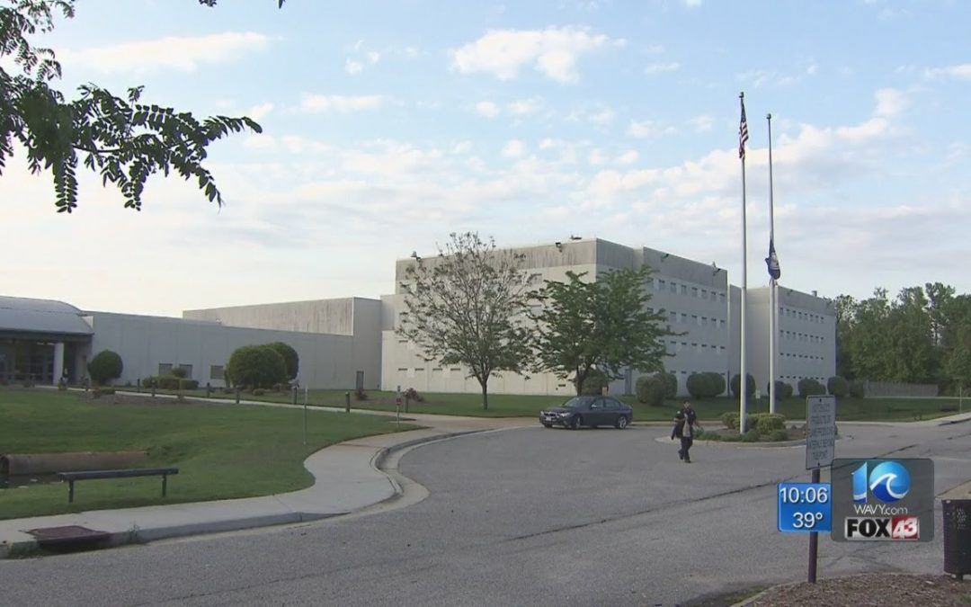 DOJ: Hampton Roads Regional Jail in violation of inmates' constitutional rights, federal law